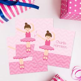 Sweet Ballerina Gift Label Set
