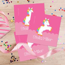 Playful Pony Gift Label Set