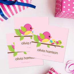 Singing Birds Gift Label Set