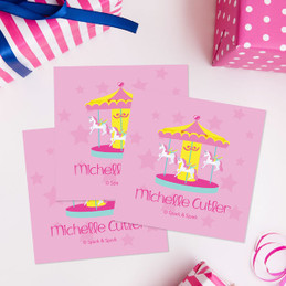 Sweet Carousel Gift Label Set