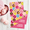 Sweet Donuts Gift Label Set