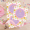 Pink Flowers Pattern Gift Label Set