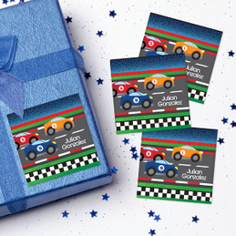 Race To Finish Gift Label Set