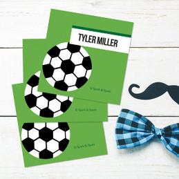 Soccer Fan Gift Label Set