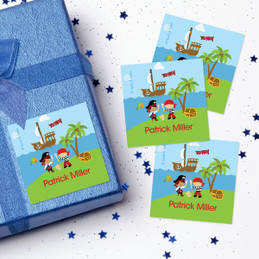 Yo Ho Pirate Gift Label Set