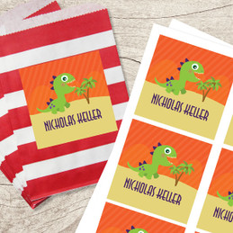 Baby Dinosaur Gift Label Set