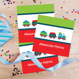 Cho Cho Train Gift Label Set