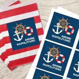 Nautical Ways Gift Label Set