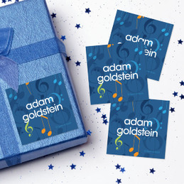 Musical Notes Gift Label Set