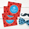 Fun Spider Web Gift Label Set