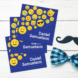 Boy Emojis Gift Label Set