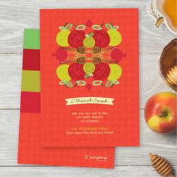 Personalized Rosh Hashanah Photo Cards | Modern Pomegranates