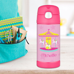Sweet Carousel Thermos Bottle