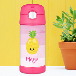 Yummy Pineapple Thermos Bottle