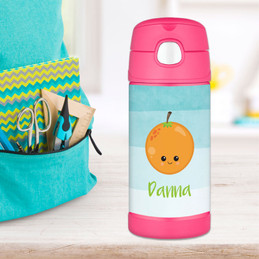 Yummy Orange Thermos Bottle