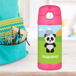 Sweet Panda Thermos Bottle