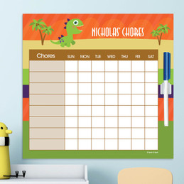 Baby Dinosaur Chore List For Kids