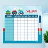 Cho Cho Train Summer Chore Chart