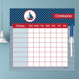 Set Sail Kids Charts