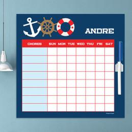 Nautical Ways Kids Chore Charts