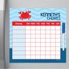 Happy Crab Kids Chore Chart