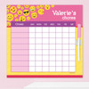 Girl Emojis Chore Schedule