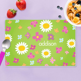 Field of Flowers Green Placemat