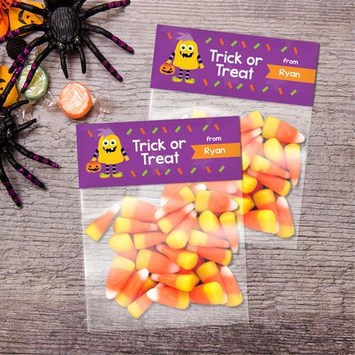Halloween Monster Treat Bags