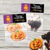 Big Foot Monster Halloween Treat Bags