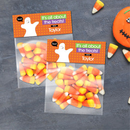 Boo Boo Ghost Halloween Treat Bags