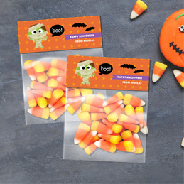 Scary Mummy Halloween Treat Bags