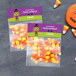 Sweet Little Witch Halloween Treat Bags
