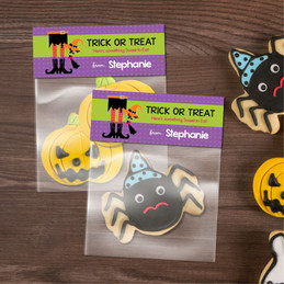 Witch Boots Halloween Treat Bags