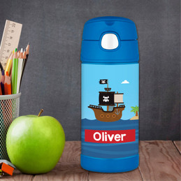 All Aboard Pirates Thermos Bottle
