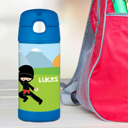Cool Super Ninja Thermos Bottle