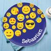 Boy Emojis Kids Plate