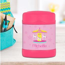 Sweet Carousel Thermos Food Jar