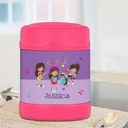 Rock and Roll Band Thermos Food Jar