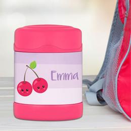 Yummy Cherries Thermos Food Jar