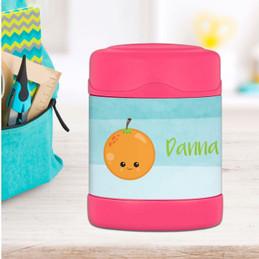 Yummy Orange Thermos Food Jar