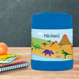 Dinosaur in the Jungle Thermos Food Jar