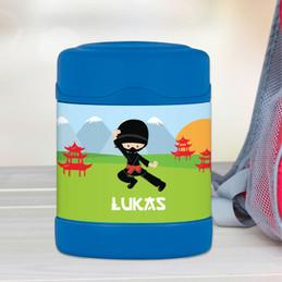 Cool Super Ninja Thermos Food Jar
