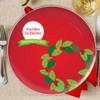 Tradicion de la Guirnalda de Navidad Plate