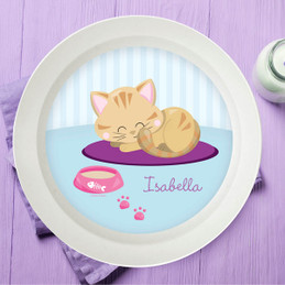 Cute Little Kitten Kids Bowl