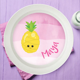 Yummy Pineapple Kids Bowl