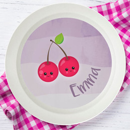 Yummy Cherries Kids Bowl
