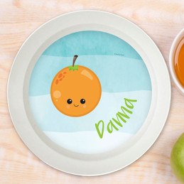 Yummy Orange Kids Bowl