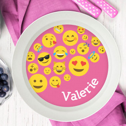 Girl Emojis Kids Bowl