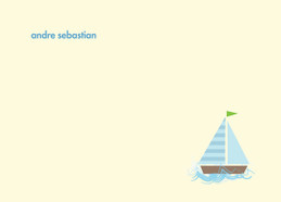 Fantastic Family Name Note Cards | My Sailboat
