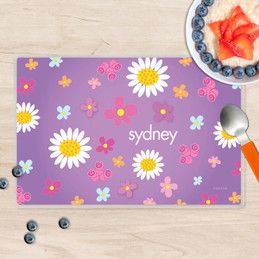 Field of Flowers Purple Placemat